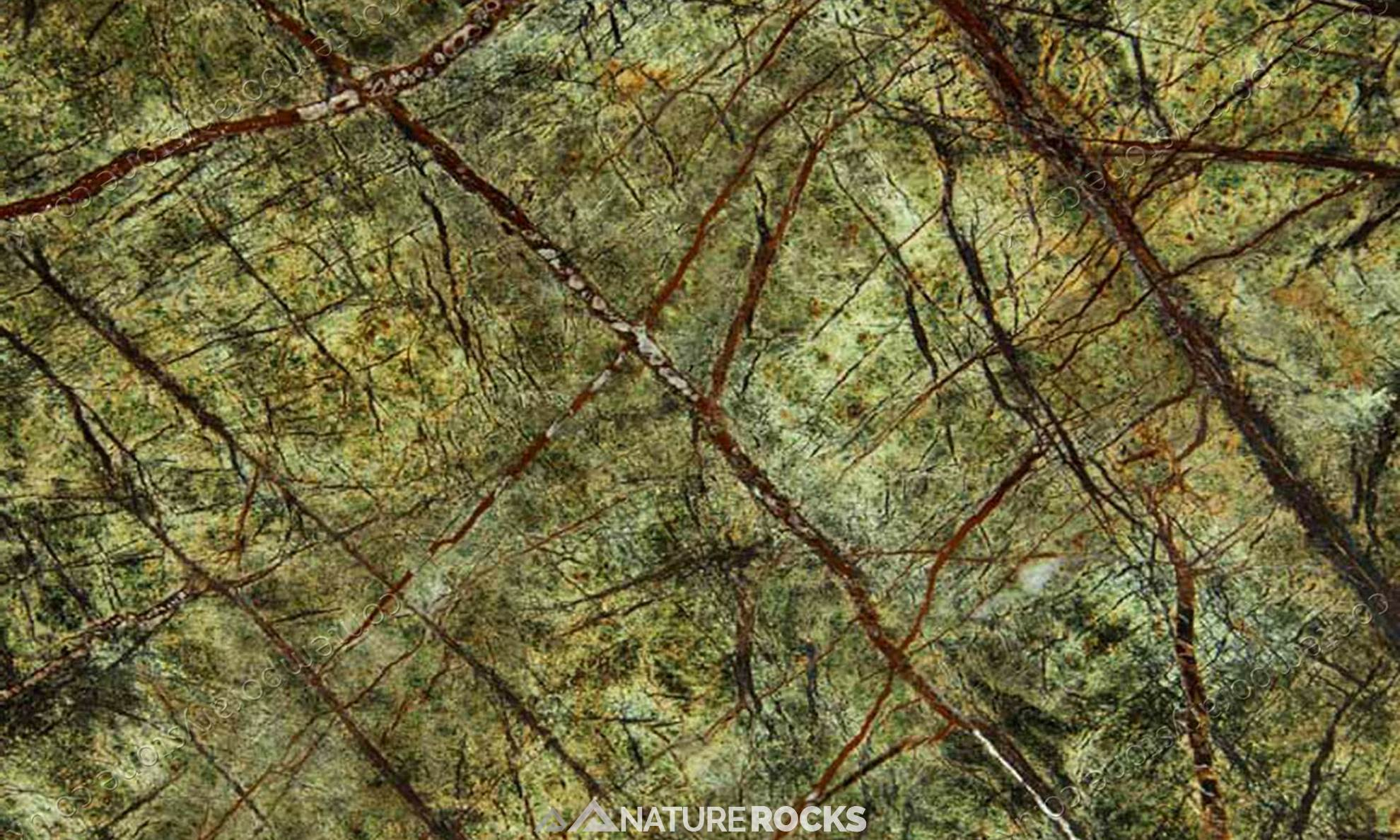 Rainforest Green Marble : Indian marbles nature rocks